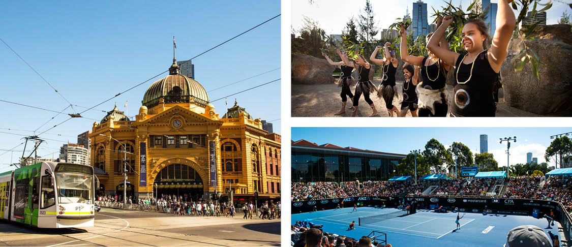 Federation Square, Fitzroy Gardens & Melbourne lane culture