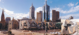 Federation Square in Melbourne CBD